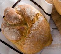 Εικόνα συνταγής για Χωριάτικο Ψωμί