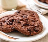 Εικόνα συνταγής για GOURMET DARK CHOCOLATE SOFT COOKIES CHOCO
