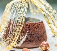 Εικόνα συνταγής για GOURMET DARK CHOCOLATE ΣΟΥΦΛΕ ΣΟΚΟΛΑΤΑΣ